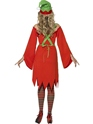 Adult Cute Elf Costume  - Side View - Thumbnail