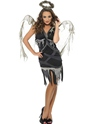 Adult Dark Fallen Angel Costume Thumbnail
