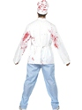 Adult Deadly Chef Costume  - Side View - Thumbnail