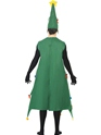 Adult Deluxe Christmas Tree Costume  - Side View - Thumbnail