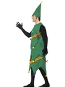 Adult Deluxe Christmas Tree Costume  - Back View - Thumbnail