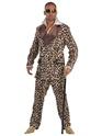 Deluxe Leopard Print Pimp Costume Thumbnail