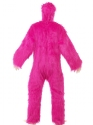 Adult Deluxe Pink Gorilla Costume  - Side View - Thumbnail