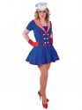 Adult Ladies Deluxe Sailor Girl Costume Thumbnail