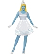 Adult Deluxe Smurfette Costume Thumbnail
