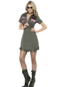 Adult Deluxe Top Gun Female Costume Thumbnail