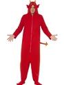 Adult Devil Onesie Costume Thumbnail