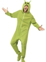 Adult Alien Onesie Costume Thumbnail