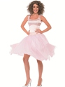 Adult Dirty Dancing Baby Last Dance Costume  - Back View - Thumbnail