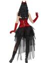Adult Diva Demonique Costume  - Side View - Thumbnail
