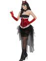 Adult Diva Demonique Costume  - Back View - Thumbnail