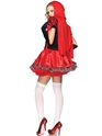 Adult Divine Miss Red Costume  - Back View - Thumbnail