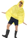 Duck Party Poncho Festival Costume  - Back View - Thumbnail