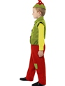 Child Elf Boy Costume  - Back View - Thumbnail