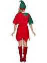 Adult Ladies Elf Costume  - Back View - Thumbnail