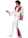 Adult Elvis Costume  - Back View - Thumbnail