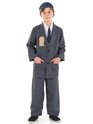 Child Evacuee Boy Costume  - Back View - Thumbnail