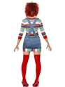 Adult Female Chucky Costume  - Side View - Thumbnail