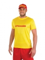 Adult Male Lifeguard Costume  - Back View - Thumbnail