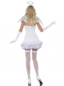 Adult Fever Angel Sequin Costume  - Side View - Thumbnail