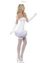 Adult Fever Angel Sequin Costume  - Back View - Thumbnail