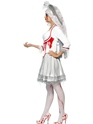 Adult Fever Blood Drip Bride Costume  - Back View - Thumbnail