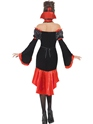 Adult Fever Boudoir Vampiress Costume  - Side View - Thumbnail
