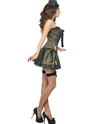 Adult Fever Boutique Army Costume  - Back View - Thumbnail