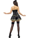 Adult Fever Boutique Cop Costume  - Side View - Thumbnail