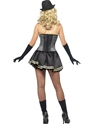 Adult Fever Boutique Gangster Costume  - Side View - Thumbnail