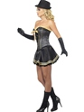Adult Fever Boutique Gangster Costume  - Back View - Thumbnail