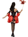 Adult Fever Boutique Halloween Baroque Costume  - Back View - Thumbnail