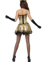 Adult Fever Boutique Kitty Costume  - Side View - Thumbnail