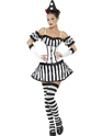 Adult Fever Clown Mime Diva Costume Thumbnail