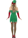 Adult Fever Elf Costume  - Side View - Thumbnail