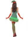 Adult Fever Elf Sequin Costume  - Side View - Thumbnail