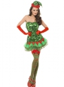Adult Fever Elf Sequin Costume Thumbnail