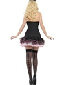 Adult Fever French Maid Fancy Costume  - Side View - Thumbnail