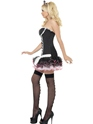 Adult Fever French Maid Fancy Costume  - Back View - Thumbnail