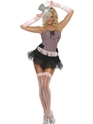 Adult Fever Fringe Stripe Burlesque Costume Thumbnail