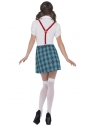Adult Geek School Girl Costume  - Side View - Thumbnail