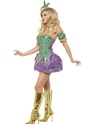 Fever Harlequin Shine Costume  - Side View - Thumbnail