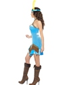 Adult Fever Indian Costume  - Side View - Thumbnail
