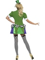 Adult Fever Miss Hatter Costume  - Back View - Thumbnail