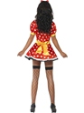 Adult Fever Miss Mouse Costume  - Back View - Thumbnail