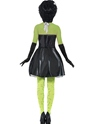Adult Fever Monster Bride Costume  - Side View - Thumbnail