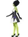 Adult Fever Monster Bride Costume  - Back View - Thumbnail