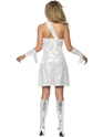 Adult Fever Mummy Bedazzle Costume  - Side View - Thumbnail