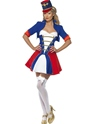 Adult Fever Naughty Nutcracker Costume Thumbnail