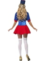 Adult Fever Naughty Nutcracker Costume  - Back View - Thumbnail
